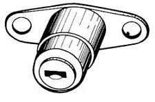 Chiusura posteriore con chiave Fiat 124 / 128