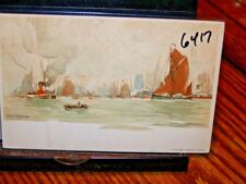 #6417,Signed H.Cassiers Watercolor,Circa 1910,Rotterdam