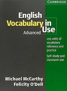 English Vocabulary in Use Advanced by McCarthy, Micha... | Book | condition good