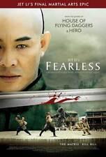 FEARLESS Movie POSTER 27x40 B Jet Li Jon T. Benn Collin Chou Anthony De Longis