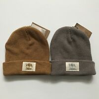 1db8d8be Timberland Waffle Knit Beanie Cap Hat Brown Gold Wheat New Toque | eBay
