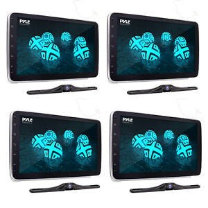 Pyle PL1SN104 Touch Screen In-Dash Single DIN Player w/ Back up Camera (4 Pack)