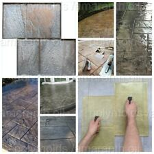 OLD SITY № 2 POLYURETHANE STAMP MAT STONE TEXTURE DECORATIVE PRINTED CONCRETE