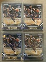 2019-20 Panini Chronicles Playbook Teal Zion Williamson - SP LOT (4)