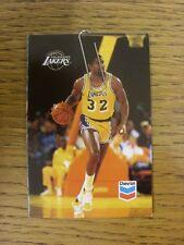 1987/1988 scheda di impianti: BASKET-Los Angeles Lakers (Pieghevole Stile). qualsiasi fa