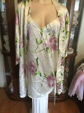 Gabrielle Nightgown And Robe Sissy Lingerie M