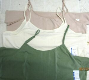 LADIES ADJUSTABLE STRAP CAMI..FITTED