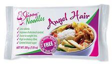 Skinny Noodles-Angel Hair 200g,Shirataki, Konjac,Slim, Dukan, Atkins,Gluten Free