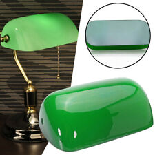 Vintage Green Plastic Desk Bank Banker Lamp Shade Cover Replacement Lampshade