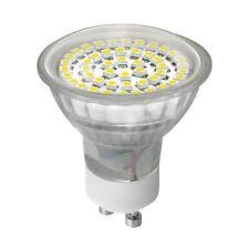 LED Leuchtmittel Lampe Licht Spot Strahler Leuchten 48 SMD´s GU10 230V Warmweiss