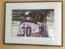 Buffalo Sabres Winter Classic 2008 Framed Sketch Picture Buffalo NY