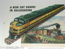 1943 General Motors Diesel advertisement, WESTERN PACIFIC RR EMD FT 901