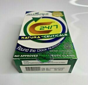 Nature's Way C24/7 NATURA-CEUTICALS Vegetarian Supplement 30 capsules USA sealed