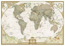 National Geographic Reference Map: Executive World Map by U. S. National Geographic Society Staff (2017, Map, Other)