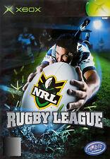 "NRL Rugby League ( Xbox Original ) ( PAL ) "" LIKE NEW """