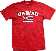 Hawaii State Flag State Colors Hometown Pride America -Mens T-shirt