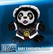 2013 Blizzcon Exclusive Lil' Chen Plush Pandaren