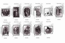 SHERLOCK HOLMES ILLUSTRATIONS - SILVER BLAZE - POSTCARD SET