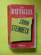 STEINBECK - LA BATTAGLIA - BOMPIANI