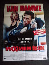 Filmplakat-Jean Claude van Damme-Maximum Risk