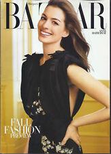 Harper's Bazaar Magazine Anne Hathaway Michael Kors Evelyn Lauder Coco Chanel
