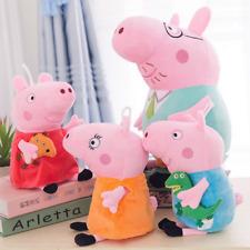 4 Peppa Pig Schweine Peppa Wutz Familie Plüschtiere Plüsch Plush Set Puppe Spiel