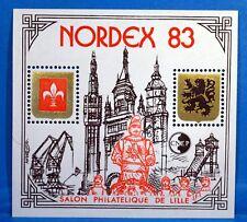 TIMBRE FRANCE BLOC CNEP n°4 NEUF** NORDEX I (salon philatélique de LILLE)