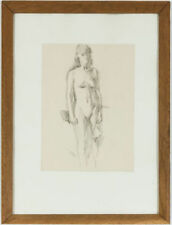 Small (up to 12in.) Realism Nudes Art Drawings