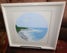 """Serigraph """"Flight Over The Sea I"""" by Andrew Hoglund - Signed - 113/220"""