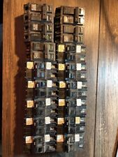 16 Mixed Circuit Breakers Federal Pacific American Challenger Stab lok 30a 20a