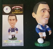 YOURI DJORKAEFF FRANCE FRENCH SOCCER FOOTBALL NATIONAL ARMENIA FIGURE PROSTRAR