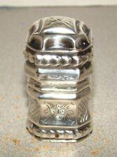 Antique Dutch Silver Match Safe Snuff Box