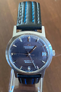 MOVADO KINGMATIC ESQUIRE CHRONOMETER WATCH