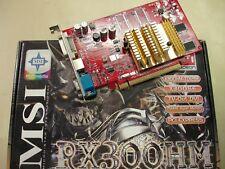 MSI RX300HM ATI Radeon 128mb x300se X300HM-TD128E 256MB Hyper Memory PCI-E