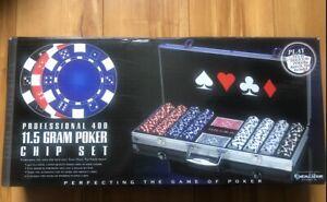 Excalibur Electronics Professional 400 11.5 Gram Poker Chip Set