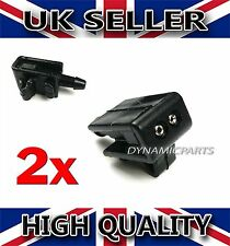 RENAULT SCENIC GRAND S. II FRONT WINDSCREEN WASHER NOZZLE WATER SPRAY JET (X2)