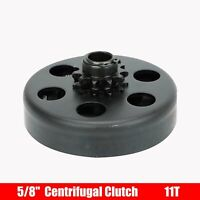 "5/8"" Bore 11 Tooth Centrifugal Clutch For #35 Chain Go Kart Mini Bike Black"