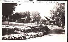 VINTAGE PHOTOGRAPH 1924 PARAISO HOT SPRINGS CALIFORNIA HISTORIC BUILDING PHOTO