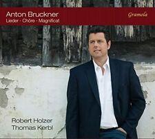 "ANTON BRUCKNER: LIEDER; CH""RE; MAGNIFICAT NEW CD"