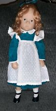 """Fanouche Doll Gotz Sylvia Natterer Red Hair Freckles W Germany 18"""" Comes in Box"""