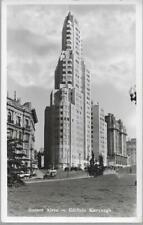 Buenos Aires, Argentina - Edificio Kavanagh (Building) - RP postcard, stamp 1936