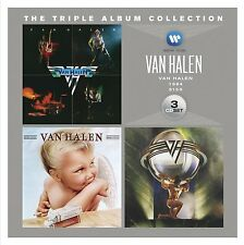 VAN HALEN TRIPLE ALBUM COLLECTION 3 CD NEW