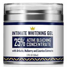 Intimate Whitening Cream - Made in Usa Skin Lightening Gel for Body, Face, Bikin