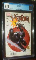 VENOM #2 2011 Marvel Comics CGC 9.8 White Pages