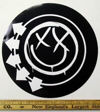 "BLINK 182 2003 BIG 12"" round CD promo sticker!~MINT condition~NEW old stock~!"