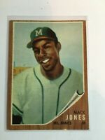 F67131  1962 Topps #186 Mack Jones RC BRAVES