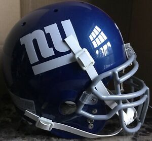 Tiki Barber Game Style Helmet New York Giants Authentic