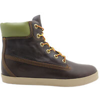 Timberland 6 Inch Glastonbury Cupsole Brown Leather Womens Boots (8639A D23)