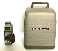 Vintage Bell & Howell Monteray 8mm Film Projector with B & H 333 Sunometer 8mm C
