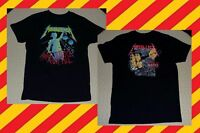 Rare METALLICA And Justice For All Hammer of Crushes You 2007 2-Sided SHIRT Sz M